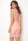 Cap Sleeve Crochet Dress