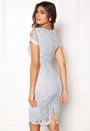 AX Paris Crochet Lace Midi Dress Blue