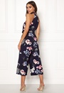 Floral High Neck Jumpsuit