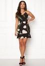Floral Print Frill Dress