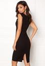 AX Paris Midi Dress Cross Front Black