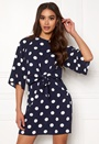 Polka Dot Tie Front Dress