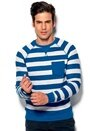 Blend Sweatshirt 74009 turkish Sea Bubbleroom.se
