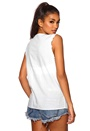 Boomerang Hanne Voile Top 00 White