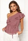 Carolina Gynning Flounce blouse