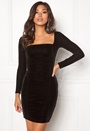 Emeline rouched dress