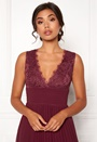 Marianna lace top gown