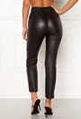 Coated suit trousers