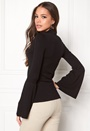 BUBBLEROOM Rouge knitted sweater Black