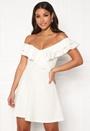 Sanna flounce dress