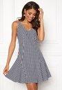 Sienna flounce dress