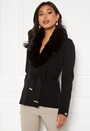 Arina heavy knit wrap jacket