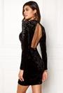 Brushed Velvet Dress