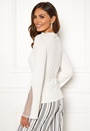 Caprice knitted pearl sweater