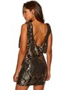 Chiara Forthi Double Stretch Sequin Black