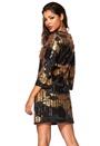 Chiara Forthi Harleth Sequin Dress Black / Gold