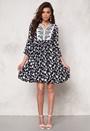 Chiara Forthi Intrend Bohemian Dress White / Blue