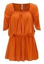 Chiara Forthi Intrend Modal Dress Cognac