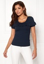 Intrend Ruffle Top s/s