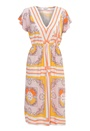 Chiara Forthi Leoni Midi Dress Pastel colors