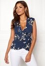 Lily Frill Wrap Blouse
