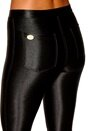 Chiara Forthi Shiny Disco Pants Black