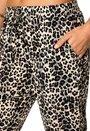 Culture Annilaline Pant Sand Leopard