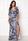 Fabiola Maxi Wrap Dress