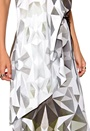 DAGMAR Magdalena Long Dress Print