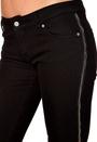 D.Brand Slim Fit Jeans Zipper Black