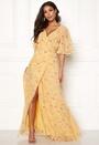 Delicate Semi Wrap Dress