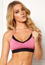 Drop of Mindfulness Bennett Light Fit Bra Pink Bubbleroom.no
