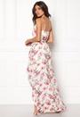 DRY LAKE First Love Long Dress 992 Pink Rose Print