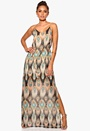 DRY LAKE Naomi Long Dress Mystic Print Bubbleroom.se