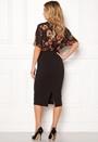 Felicity Print Midi Dress