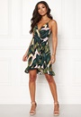 Floriana Wrap Frill Dress