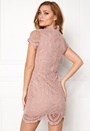 Girl In Mind Lace Dress Mauve
