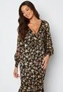 Floral Fishtail Midi Dress