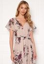 Flutter Floral Maxi Dress
