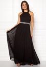 Halterneck Chiffon Maxi Dress