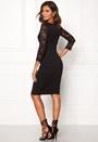 Lace Top Midi Dress
