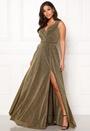 Wrap Front Sleeve Dress
