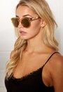 WOS Golden Air Sunglasses Kullanvärinen Bubbleroom.fi