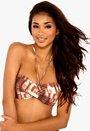 BEACHWAVE Bikini-bh Brun Bubbleroom.se