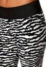 TrulyMine Leggings Zebra
