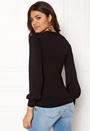 Happy Holly Amelia sweater Black