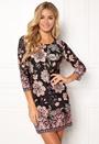 Happy Holly Blenda dress Black / Patterned Bubbleroom.se