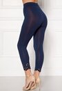 Happy Holly Flora Crop leggings Navy