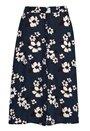 Frida button skirt