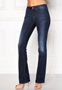 Happy Holly Uma bootcut jeans Dark denim